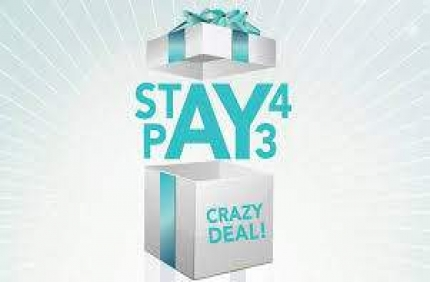 Stay 4 Pay 3 in 4 Star Hotel Kaimak Inn